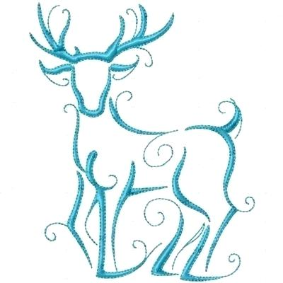 400x400 Reindeer Outline Template Face Template Have Students Add Their