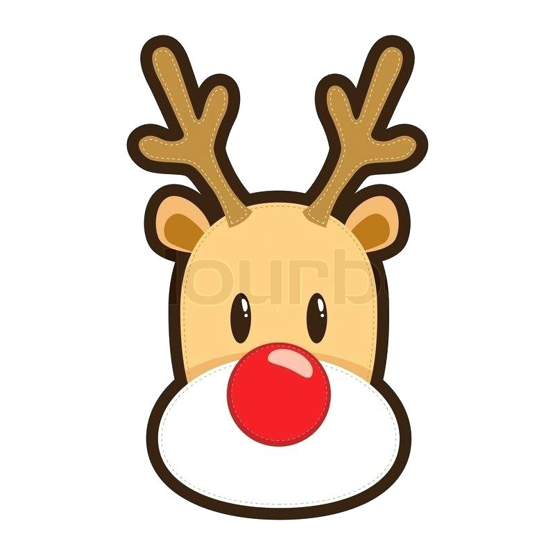 800x800 Cartoon Reindeer Head Image Cartoon Reindeer Head Drawing