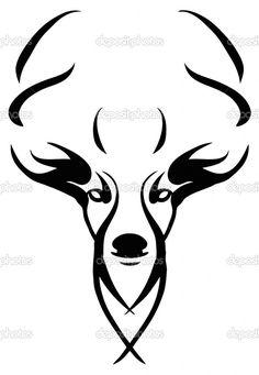 Deer Lying Down Drawing