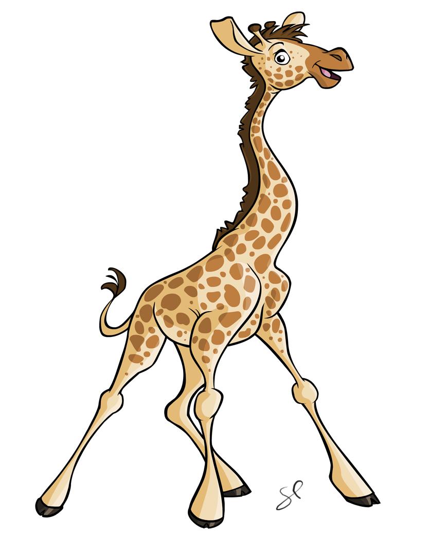 834x1042 Giraffe, Pencil, Deer, Transparent Png Image Clipart Free Download