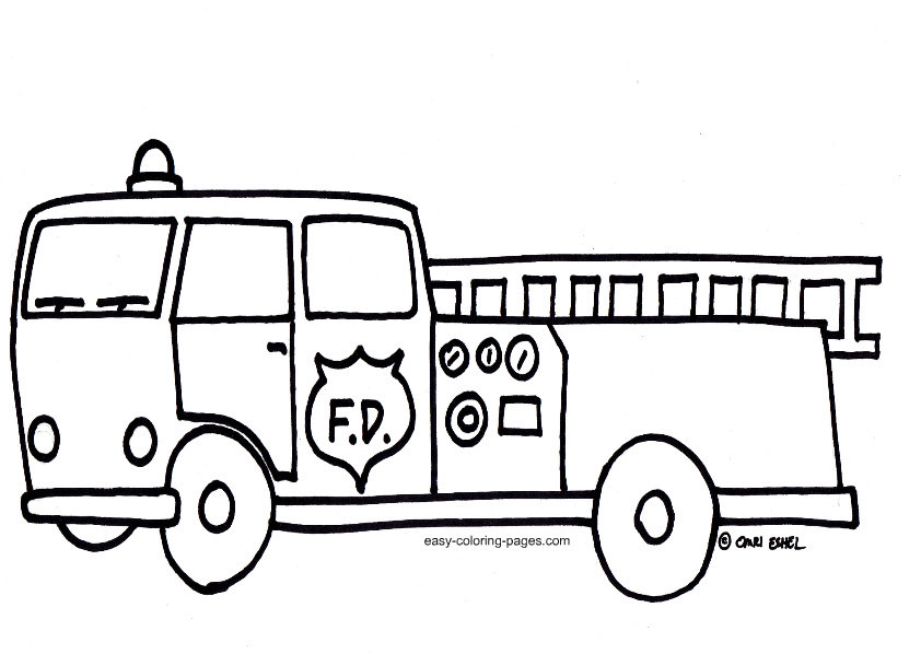 842x598 mail delivery truck coloring pages lovely free truck outline