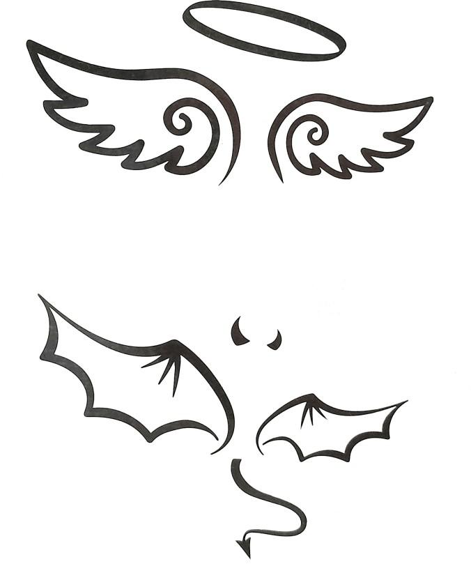 676x832 Gemmas Fashion Angel Demon