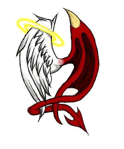 400x478 Angel Vs Demon
