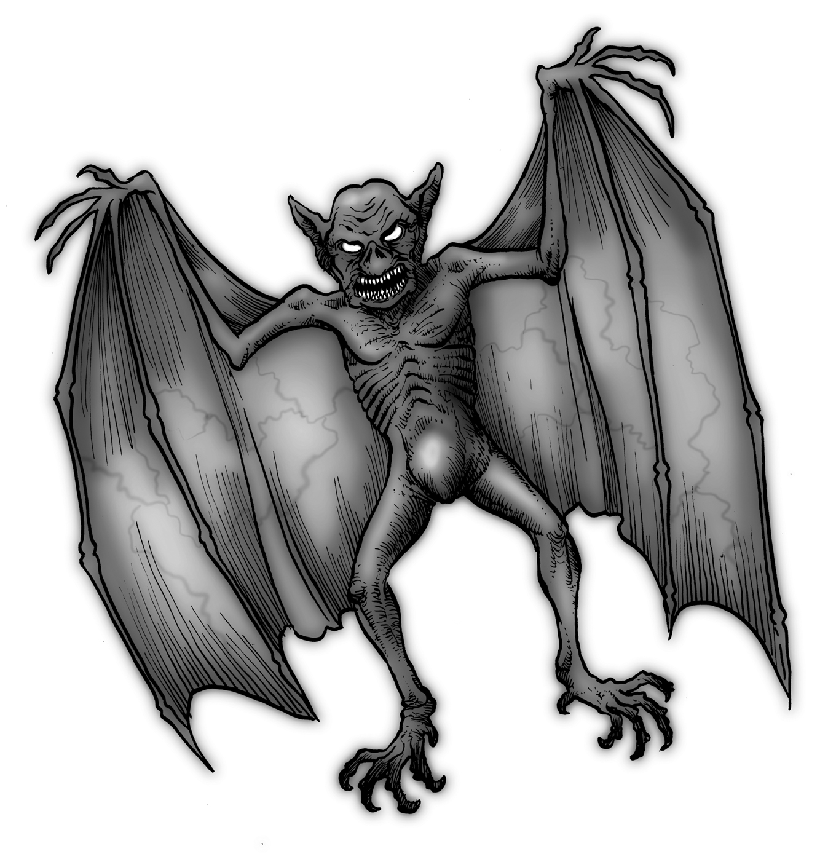 Demon Dragon Drawing