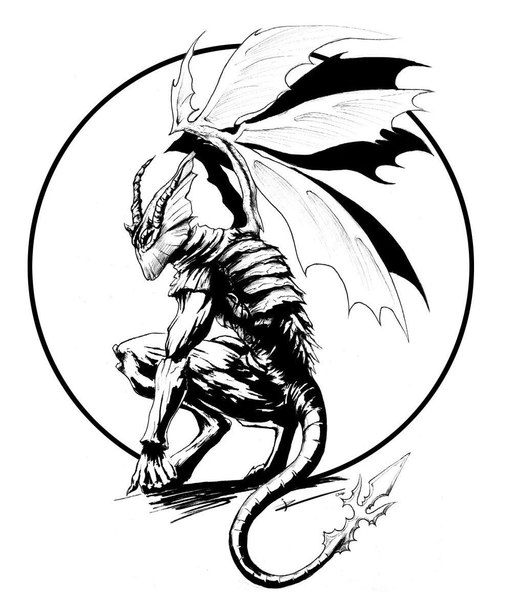 Demon Drawings