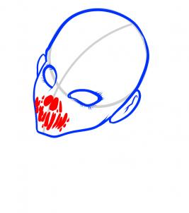 267x302 draw a demon face, demon face, step
