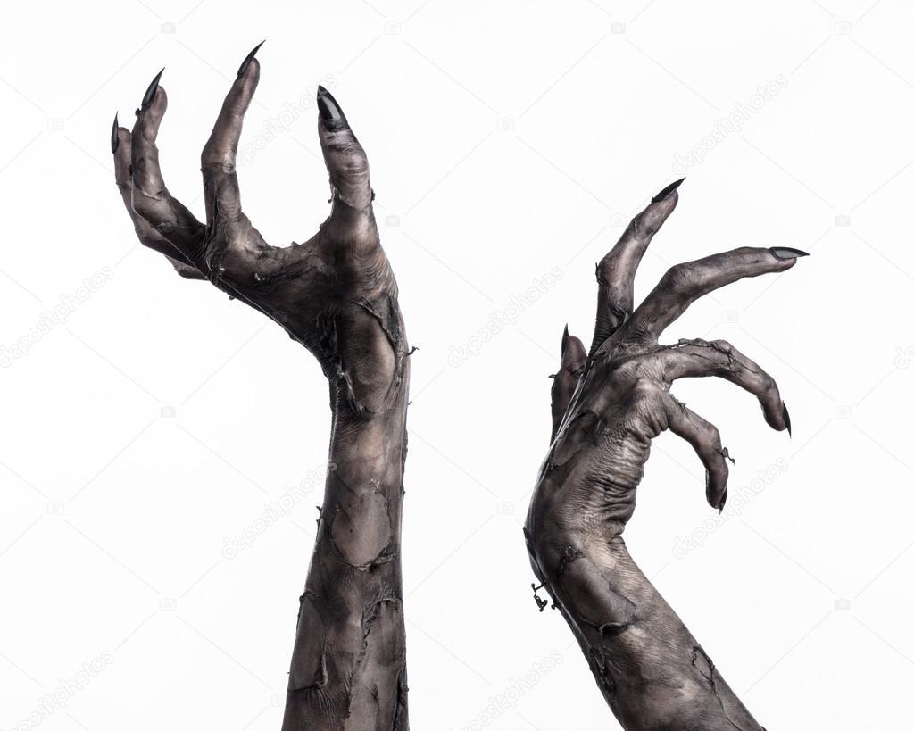 Demon Hand Drawing