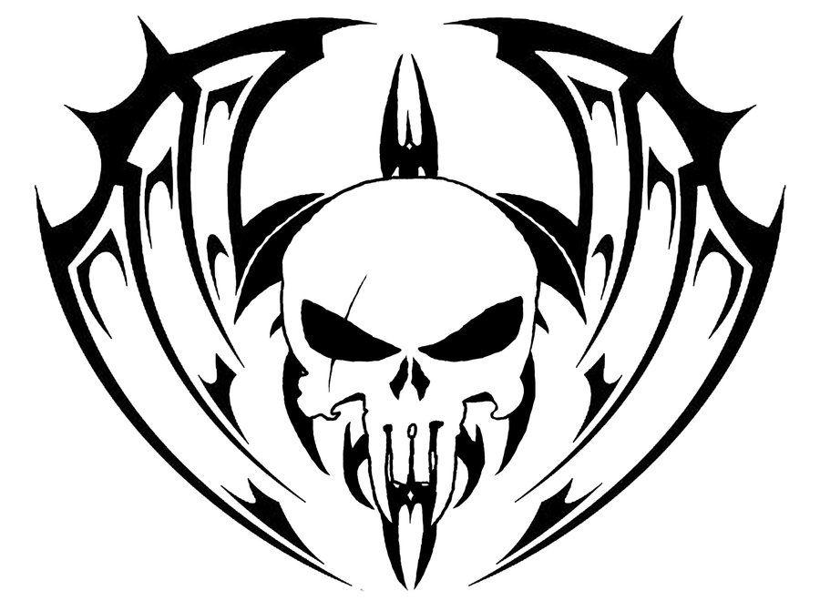 900x660 Demon Skull Tattoo Designs Tribal Skull Tattoo Ideas