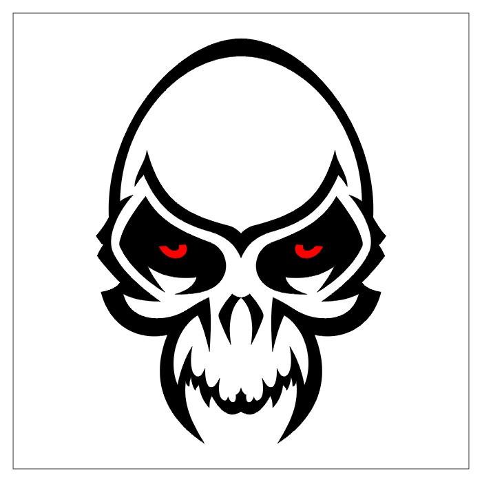 700x700 Elegant Simple Demon Tattoo Designs