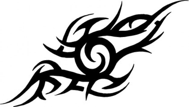 626x356 Half Angel Half Demon Tattoo Sketch