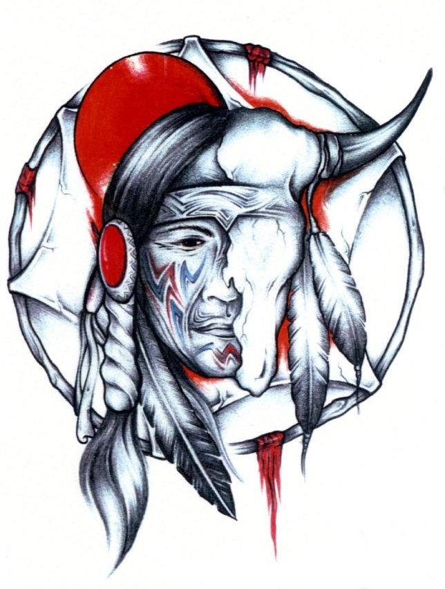 644x852 Tattoo Demon
