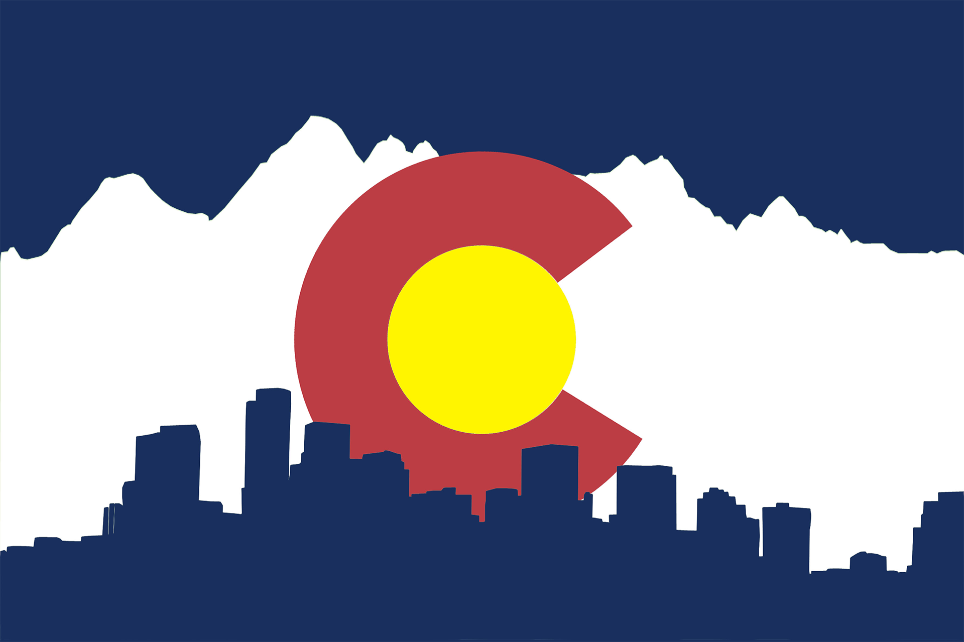 1920x1279 Colorado Flag I Designed