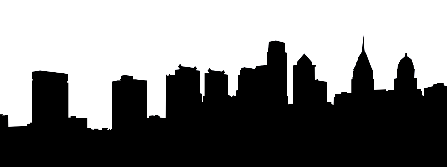 1698x635 Philly Ipsum! Things For Us Skyline Silhouette, Eagle Face