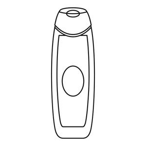 300x300 deodorant icon outline illustration of deodorant vector icon