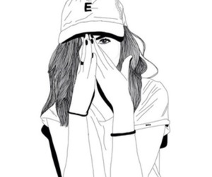 Depressed Girl Crying Drawing Tumblr