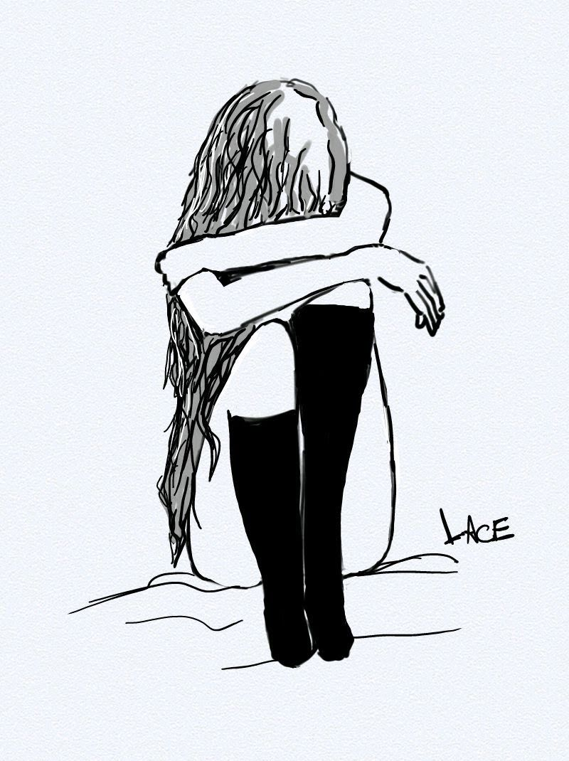 Depressed girl crying drawing tumblr free download best
