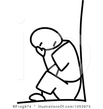400x420 In Depression Clipart