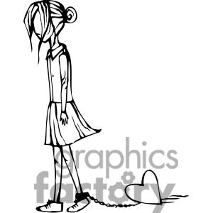 300x300 Sadness Clipart Depressed Girl