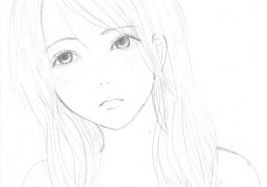 300x210 Alone Girl Photo Drawings Best Sad Girl Drawing Ideas
