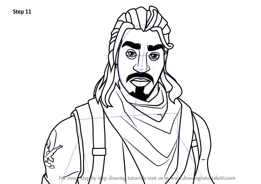 842x596 Derrick Rose Drawing Face