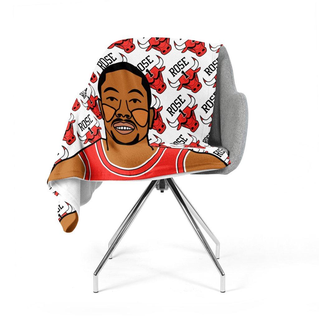 1024x1024 Derrick Rose Fleece Blanket