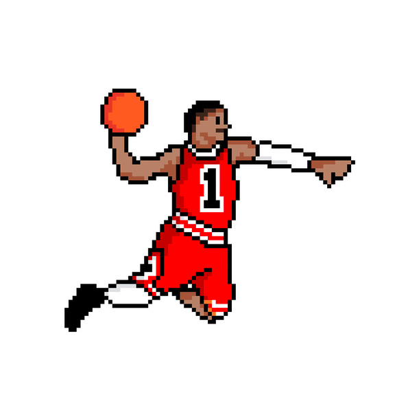 611x610 This Pixelated D Rose Would Dominate In Double Dribble On My Old