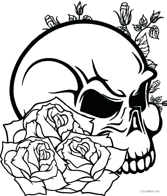 699x820 Free Printable Rose Coloring Pages