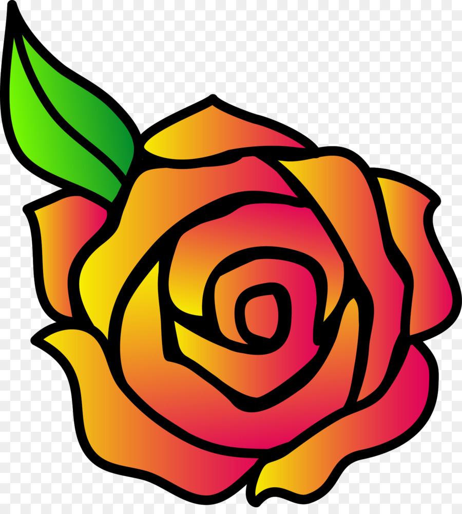 900x1000 Cartoon Rose Drawing And Drawing Cartoon Rose Clip Art