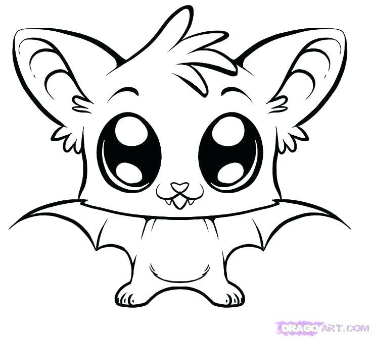 736x672 Draw Simple Animals
