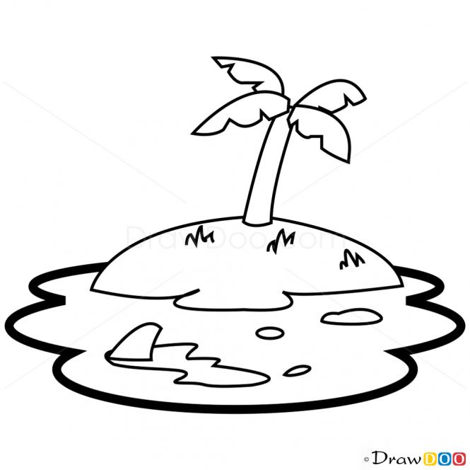 Desert Island Drawing