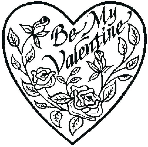 576x569 Drawings Of Hearts And Flowers Flower And Heart Tattoo Designs