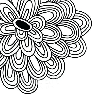 379x388 Flower Drawing Clipart Flower Drawings For Kids Library Flower