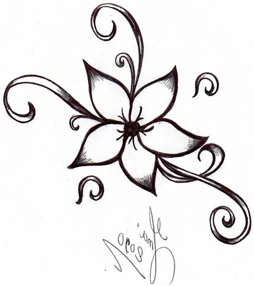 841x949 Art Easy Drawings, Easy Flower Drawings
