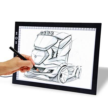 425x425 Drawing Tablet, Autolizer Adjustable Brightness