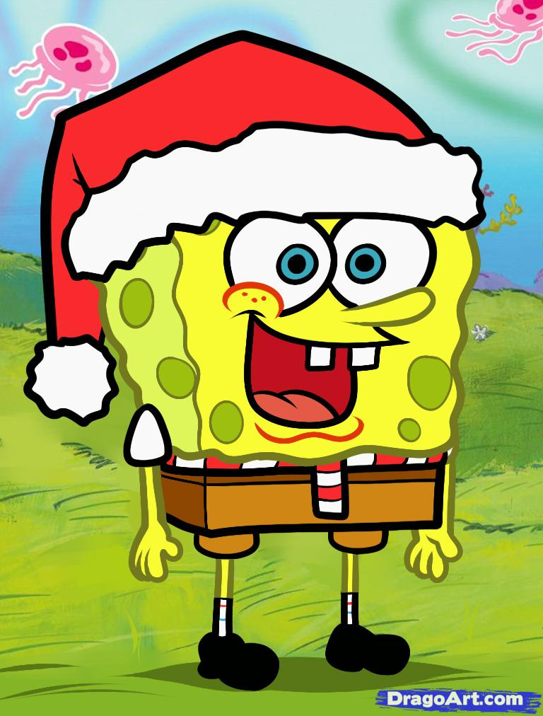 768x1012 Spongebob Christmas Hd Desktop Backgrounds For Free Hd Wallpaper