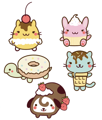 401x475 adorbz! too cute in kawaii illustration, kawaii art, kawaii