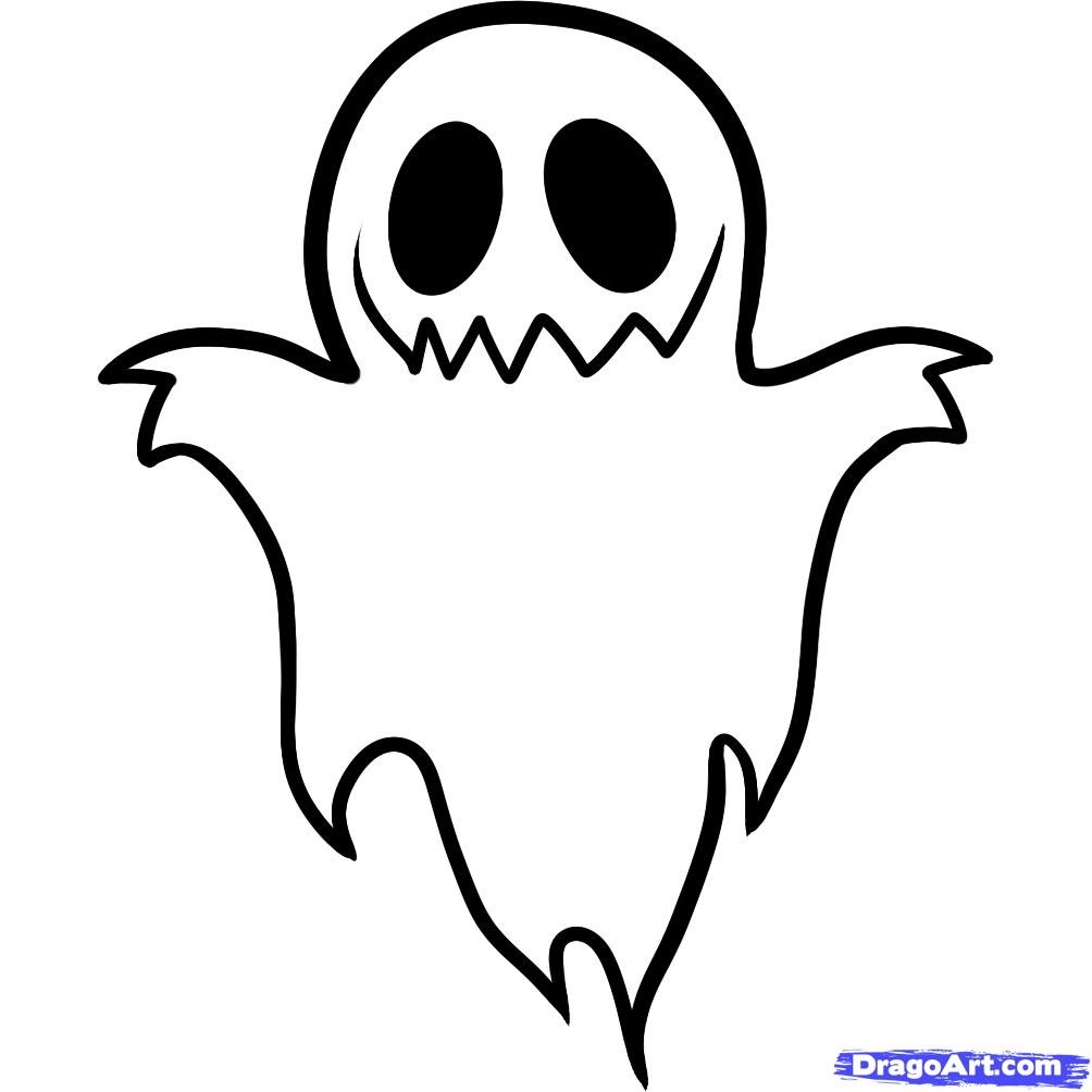 1004x1004 Ghost Drawing Free Download