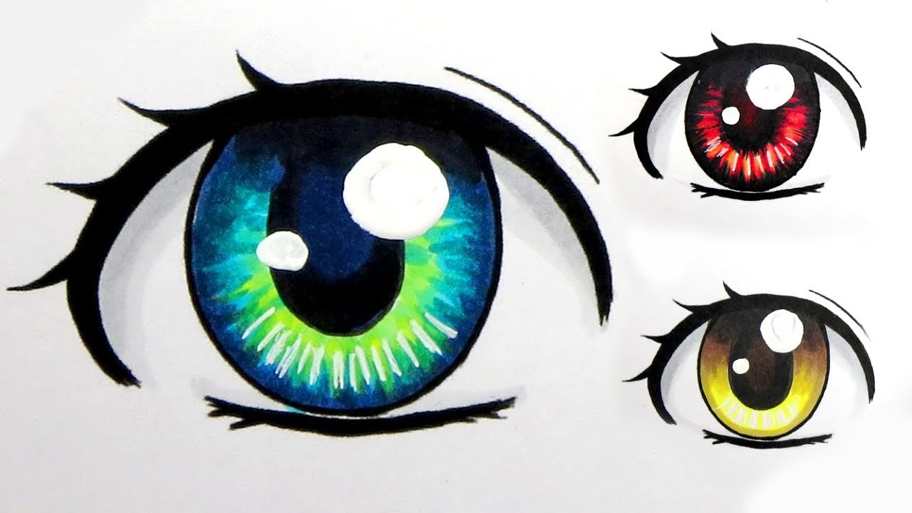 1280x720 How To Colour Eyes With Copic Markers