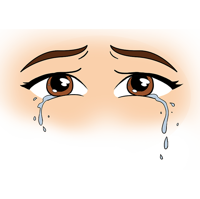 680x678 How To Draw Tears Really Easy Drawing Tutorial