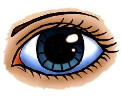 400x363 How To Draw A Cartoon Eye