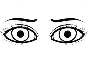 302x215 How To Draw Drawing Eyes For Kids