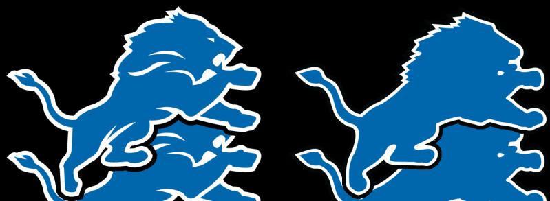 799x293 Drawing Lion Logo Detroit, Picture