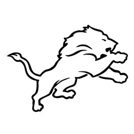 270x270 nfl detroit lions stencil for the home lion stencil, nfl