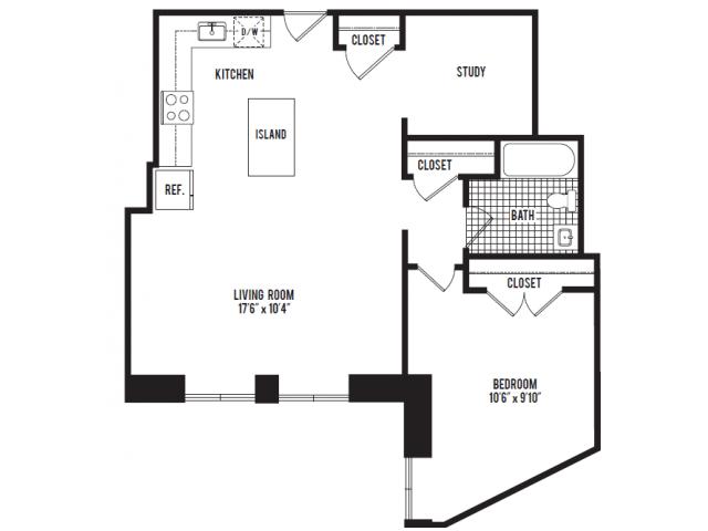 640x480 The Albert Apartments Detroit, Mi