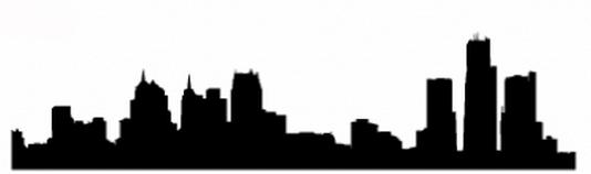 534x158 Detroit Skyline Png Free Detroit Skyline Transparent Images
