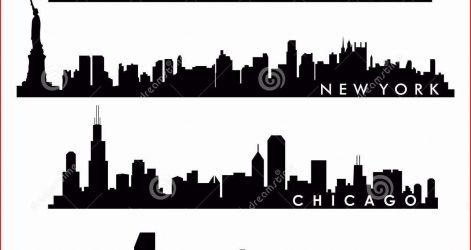 471x250 Skyline Drawing Art Chicago Pencil City Denver Carmi Chaelinn