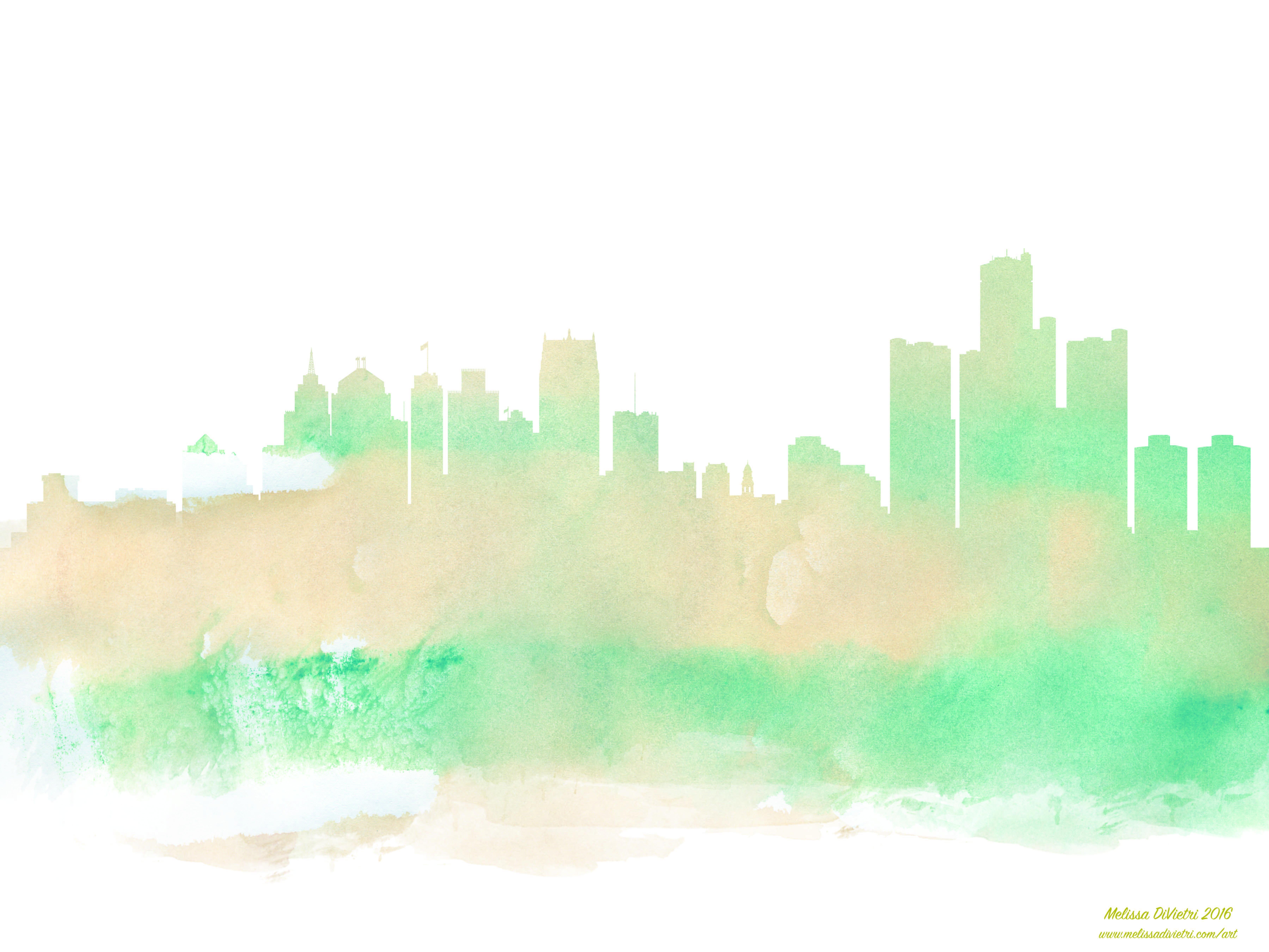 7200x5400 Detroit Art