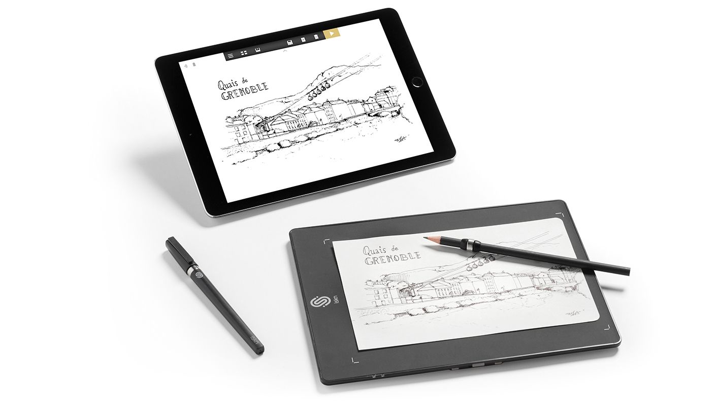 1414x795 slate digitizes your sketch as you draw, doubles as a graphics