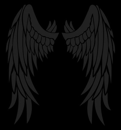 Devil Angel Drawing