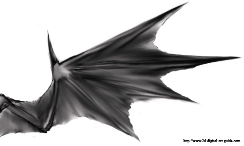 500x300 Photos How To Draw Devil Wings